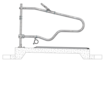 0113550-007-freestall-divider-comfort-ng-to-support-post-spinder-dairy-housing-systems