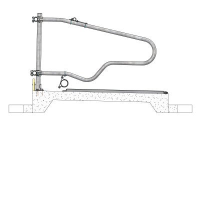 0113550-010-freestall-divider-comfort-ng-to-horizontal-tubing-spinder-dairy-housing-systems