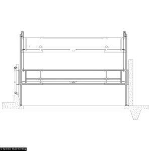 0324300-001-draw-gate-with-contra-weights-spinder-dairy-housing-systems