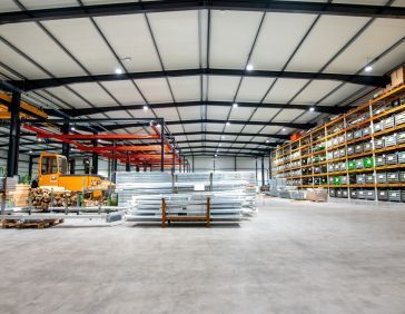 Gebouw Spinder Dairy Housing Concepts in Drachten